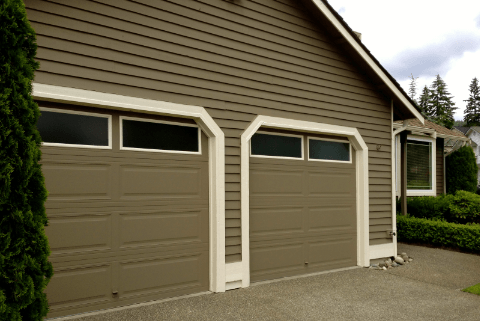 painting garage door trim