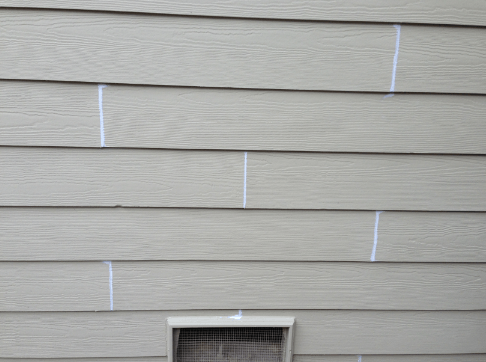 fake siding paint