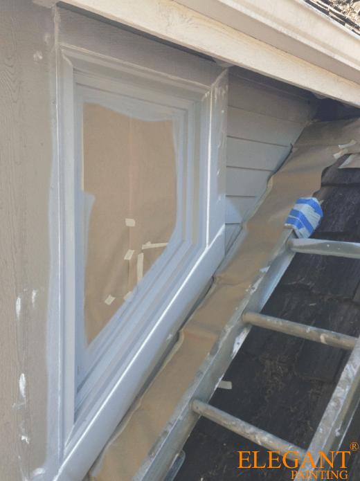Bellevue Painters · Caulking Garage Door Casing · Window Glazing