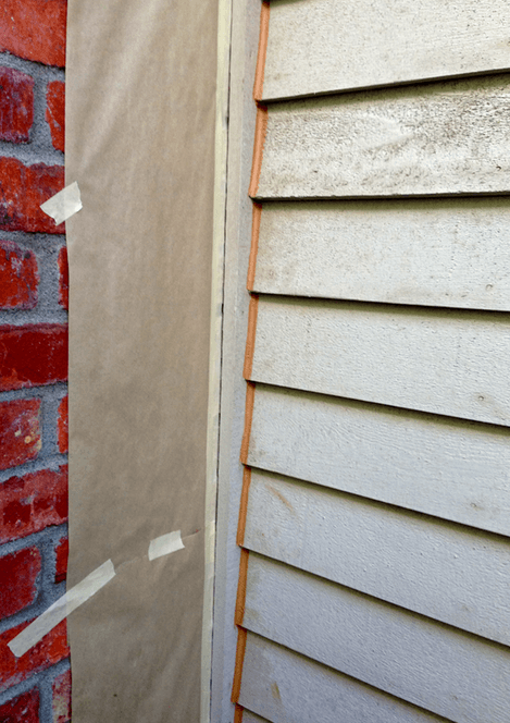 brick mold on exterior door caulking what should and should never be caulked