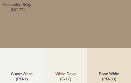 brown exterior paint colors