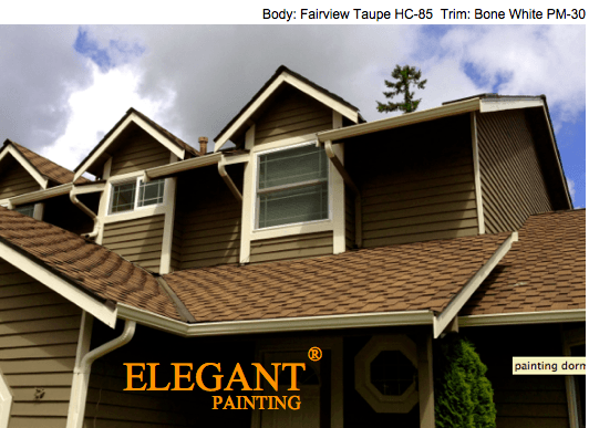 Brown Exterior Paint colors - Elegant Painting®
