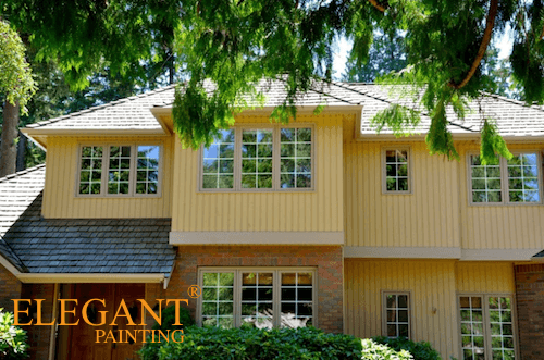 bellevue painting contractors red - Exterior House Colors With Red Brick