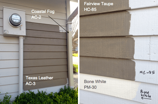 benjamin moore texas leather ac 3 - Exterior House Colors Brown