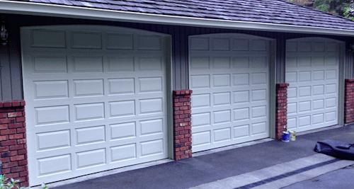 garage doors siding color