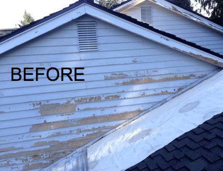 peeling paint sammamish