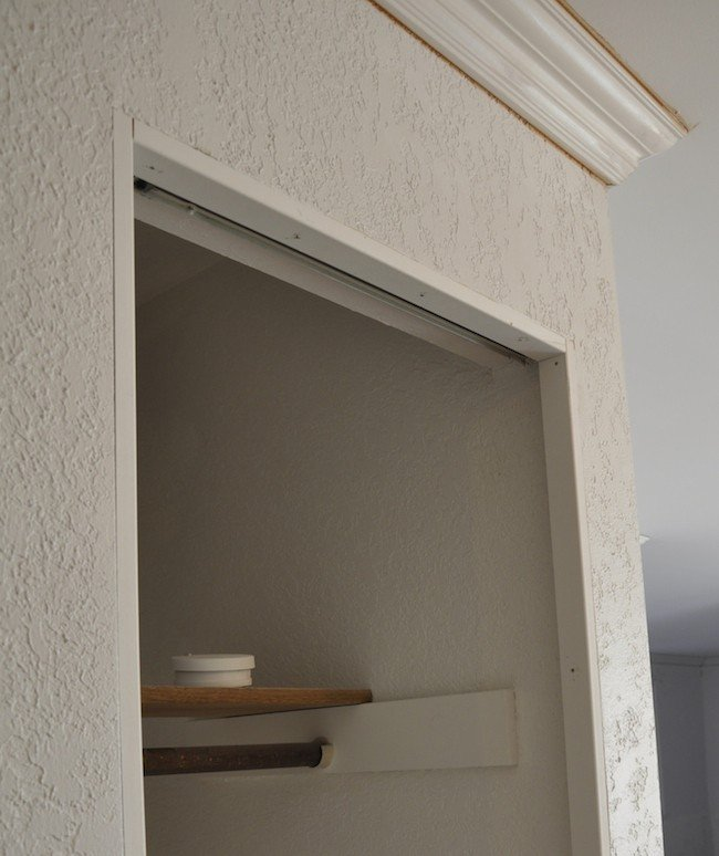 How to install trim on bi-fold closet doors