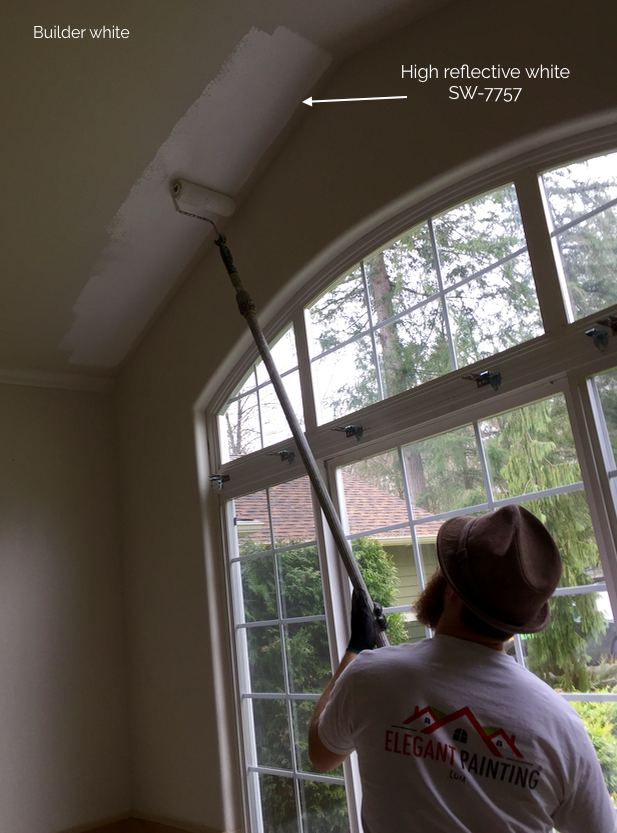 rolling ceilings paint