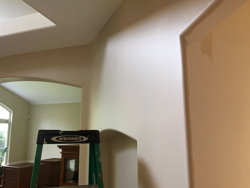 Eggshell satin finish - Satin paint on walls ...