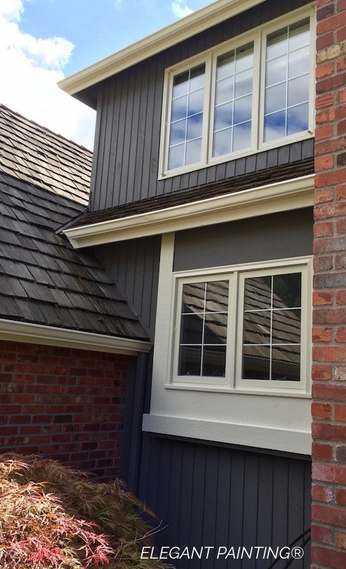 Gauntlet gray sw7019 for Emerald exterior paint reviews