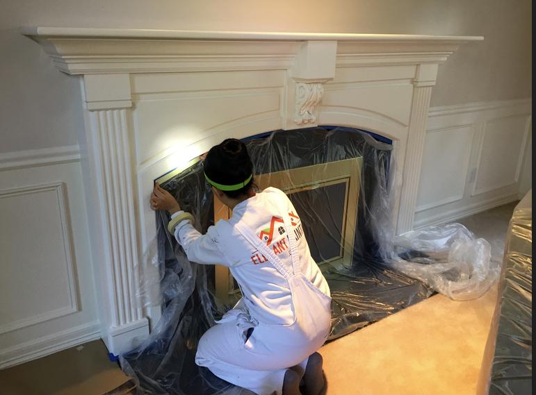 interior millwork paint