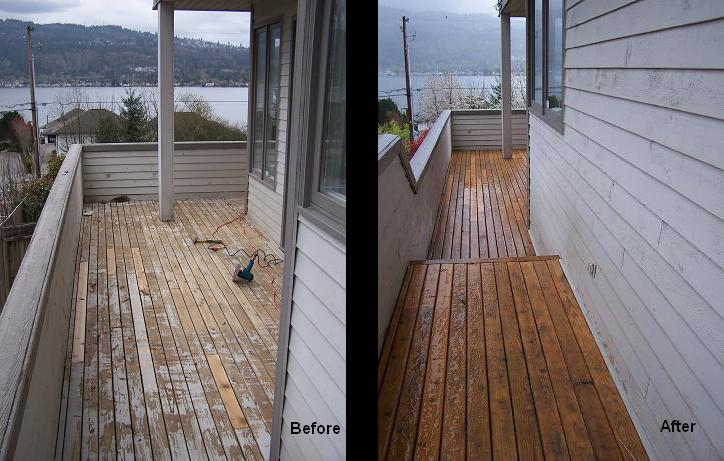 REdmond deck painting
