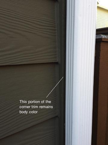 Painting Exterior Edges