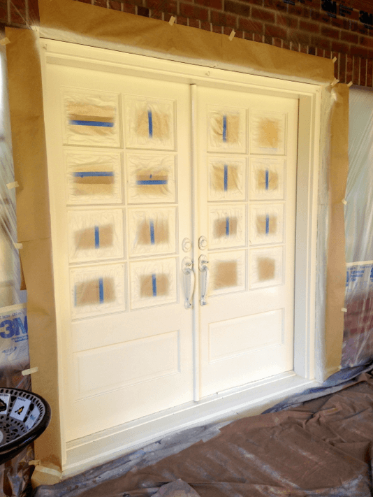 front door masking spray woodinville