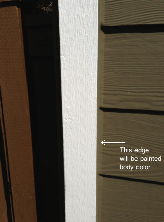 Painting Exterior Edges