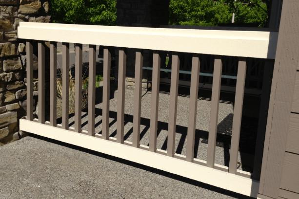railing color
