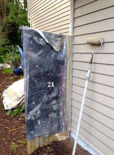 masking fences stain