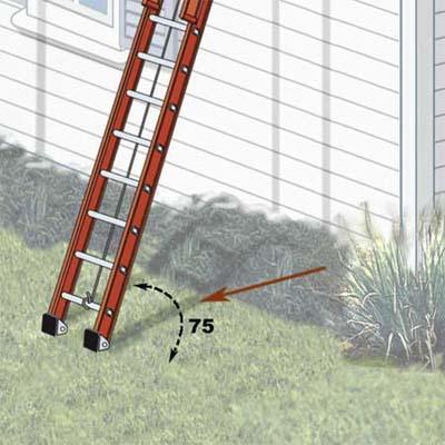 elegant painting ladder-safety