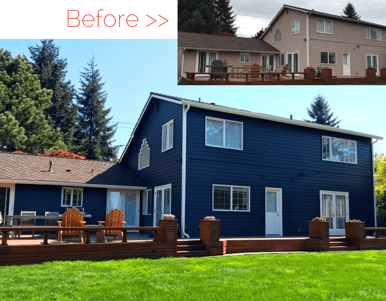 Clyde Hill Exterior painting