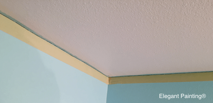 how to tape ceiling for painting