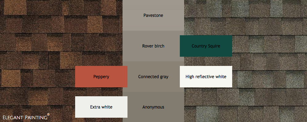 Exterior House Paint Colors With Brown Roof Color Ideas