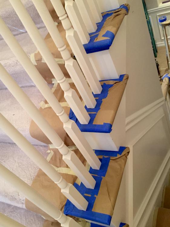 interior railing paint