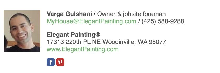Elegant Painting Estimate